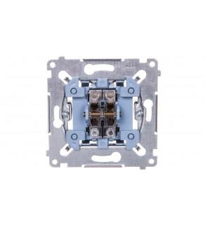 Simon 54 Przycisk podwójny zwierny mechanizm 10AX 250V SP2M