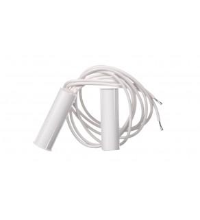 Czujka kontaktronowa wpuszczana magnetyczna biała K-2