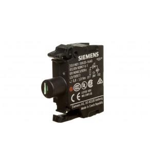 Oprawka z LED czerwona 24V AC/DC montaż czołowy Sirius ACT 3SU1401-1BB20-1AA0