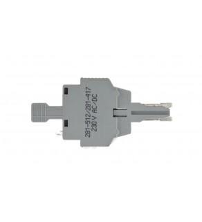 Wtyk bezpiecznikowy szary 6,3A G 5x20mm 281-512/281-417