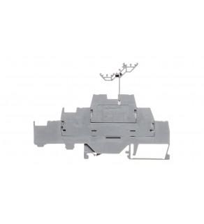 Złączka szynowa 3-pietrowa 2,5mm2 L / L / L szara 280-550