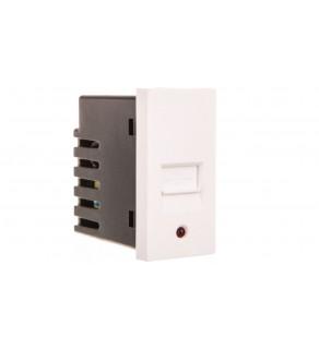 TouchMe Moduł 1/2 gniazdo USB białe TM901W