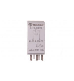 Moduł EMC, bocznik rezystancyjny 110-240V AC 99.02.8.230.07