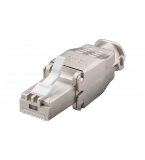 Wtyk teleinformatyczny RJ45 kat.6 STP /beznarzędziowy/ 38293