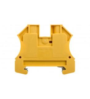 Złączka szynowa ochronna 2-przewodowa 10mm2 żółto-zielona ATEX WPE 10 1010300000
