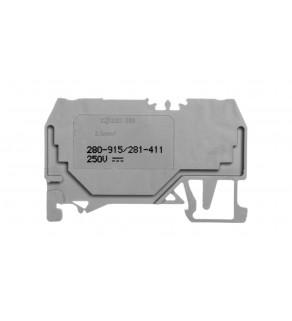 Złączka diodowa 2-przewodowa 2,5mm2 280-915/281-411