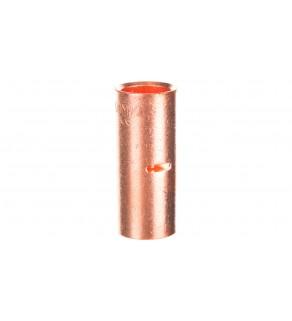Końcówka /tulejka/ łącząca miedziana niecynowana 120mm2 LN120