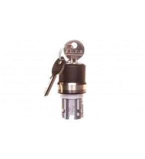 Napęd przełącznika 3 położeniowy I O-II 22mm 2x klucz RONIS SB30 stabilny/niestabilny metal IP69k Sirius ACT 3SU1050-4BP61-0A