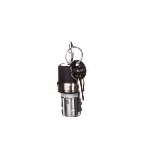 Napęd przełącznika 3 położeniowy I-O II 22mm 2x klucz RONIS SB30 stabilny/niestabilny metal IP69k Sirius ACT 3SU1050-4BN21-0A
