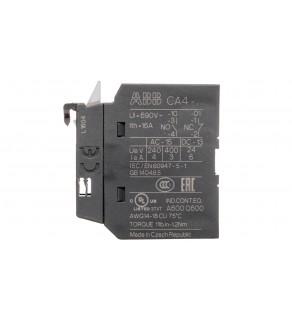 Styk pomocniczy 1Z 0R montaż czołowy CA4-10 1SBN010110R1010