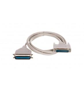 Kabel połączeniowy Centronics DSUB25/DSUB36, M/M beżowy 1,8m AK-580100-018-E