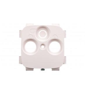 VALENA ALLURE Plakietka gniazda antenoweego tv-rd-sat ( 2-3 otwory, Plakietka do gniazd innych producentów ) biały 754805