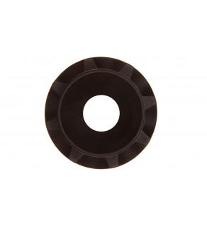 Pierścień centrujący wałka do pokręteł OH1-3 czarny OHZX11 1SCA022708R3170