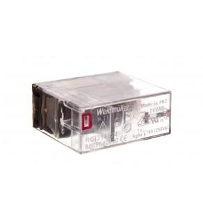 Przekaźnik przemysłowy 1P 16A 24V AC złącze wtykowe RCI314524 8869840000