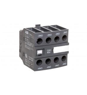 Styk pomocniczy 4Z 0R montaż czołowy CA4-40U 1SBN010140R1340
