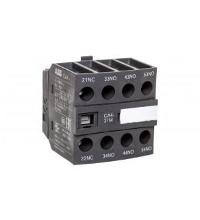 Styk pomocniczy 3Z 1R montaż czołowy CA4-31M 1SBN010140R1131