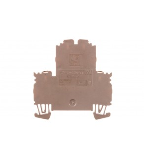 Złączka szynowa 2-piętrowa 4-przewodowa 2,5mm2 beżowa ATEX WDK 2.5N 1041600000