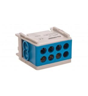 Blok rozdzielczy kompaktowy BRC 25-1/2 niebieski R33RA-02030000501