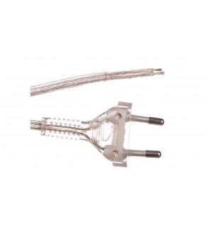 Przewód przyłączeniowy bez wyłącznika 250cm bezbarwny SP-250/2X0,75/-BZB YNS10000453