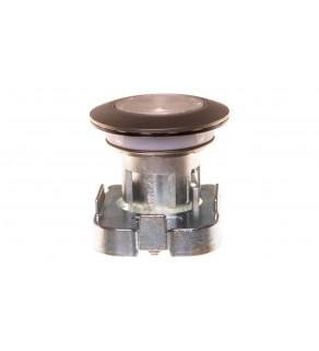 Napęd przycisku 30mm przezroczysty z podświetleniem bez samopowrotu metalowy matowy IP69k Sirius ACT 3SU1061-0JA70-0AA0