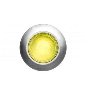 Napęd przycisku 30mm żółty z podświetleniem bez samopowrotu metalowy matowy IP69k Sirius ACT 3SU1061-0JA30-0AA0