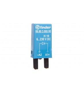 Dioda gaszeniowa 6-220V DC polaryzacja A1+ 99.80.3.000.00