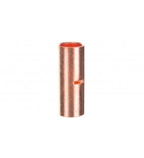 Końcówka /tulejka/ łącząca miedziana niecynowana 95mm2 LN95
