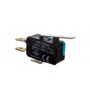 Wyłącznik krańcowy miniaturowy 1CO dźwignia średnia T0-MK1KIM2