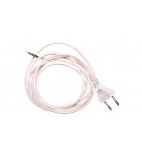 Przewód przyłączeniowy bez wyłącznika 250cm biały SP-250/2X0,75/-BIA YNS10000451