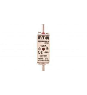 Wkładka bezpiecznikowa NH000 100A gL/gG 500V 100NHG000B