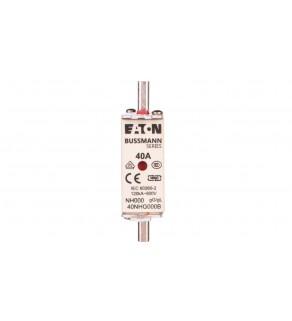 Wkładka bezpiecznikowa NH000 40A gL/gG 500V 40NHG000B