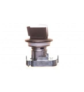 Napęd przełącznika 3 położeniowy I-O-II 30mm biały podświetlany z samopowrotu metal mat IP69k Sirius ACT 3SU1062-2DM60-0AA0