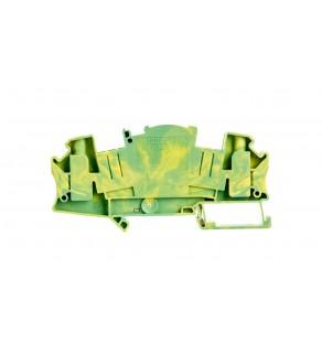 Złączka szynowa ochronna 6mm2 zielono-żółta UTMED 6-PE 3047442