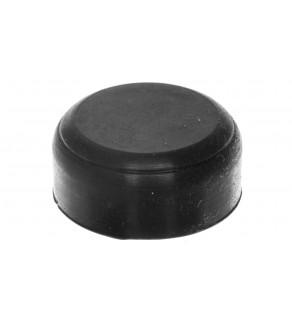 Osłona gumowa do przycisków krytych i podświetlanych czarna LPXAU132