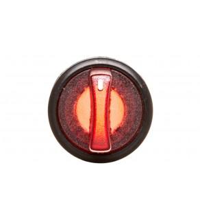 Łącznik pokrętny podświetlany z ramką czerwony 2 położenia stabilne P9XSLD0R 185591