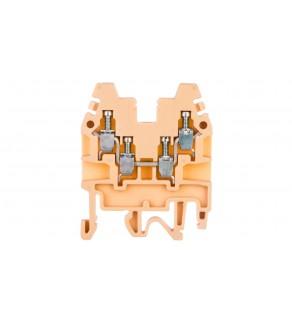 Złączka szynowa 2-torowa 2,5mm2 beżowa CBR.2 I-CR1100000000000