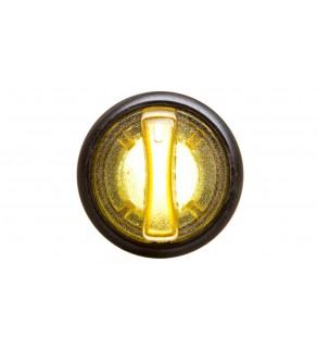 Łącznik pokrętny podświetlany z ramką żółty 2 położenia stabilne P9XSLD0G 185593