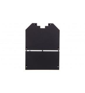Zaślepka montażowa puszki podłogowej 76x104mm czarna UT34 P0 7408745