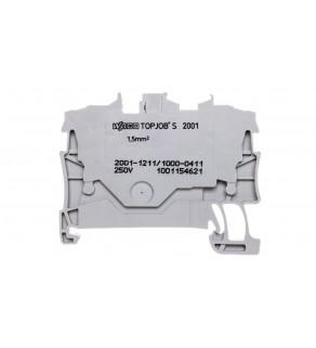 Złączka 2-przewodowa 1,5mm2 diodowa szara TOPJOBS 2001-1211/1000-411
