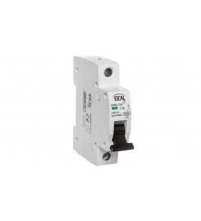 Wyłącznik nadprądowy 1P C 16A 6kA AC KMB6-C16/1 23143