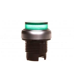 Napęd przycisku zielony z podświetleniem z samopowrotem wystający LPCBL203