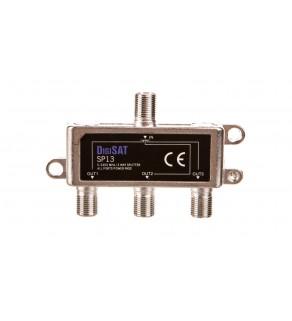 Rozgałęźnik sygnału RTV GN-3GN SP13 DigiSat 5-2400MHz 77-216