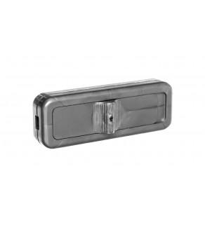 Wyłącznik przelotowy 2,5A/250V srebrny WSR-940-SRB YNS10000422