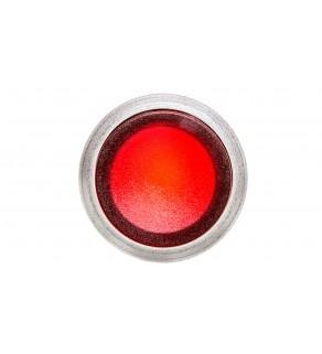 Przycisk płaski podświetlany z ramką czerwony P9XPLRGD 185491