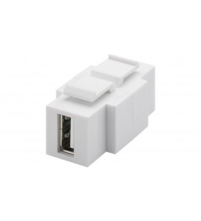 Keystone moduł USB 2.0 - gniazdo USB-A   gniazdo USB-B 79930