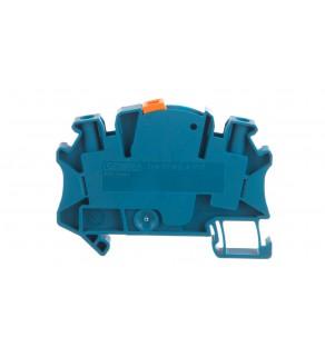 Złączka szynowa rozłączalna do przekładników pomiarowych 2-przewodowa 4mm2 niebieska UTME 4-P/P BU 3047454