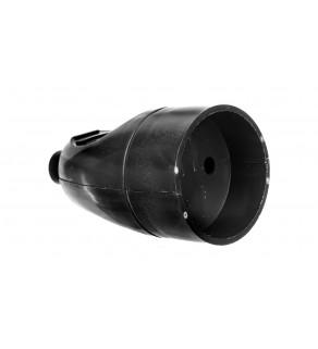 Gniazdo przenośne b/u 16A 2P 250V czarne GN-161