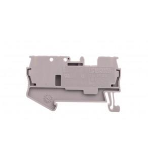 Złączka szynowa rozłączna 2-orzewodowa 0,08-4mm2 szara ST 2,5-TG 3038435