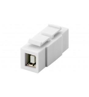 Keystone moduł USB 2.0 - gniazdo USB-B   gniazdo USB-B 79925