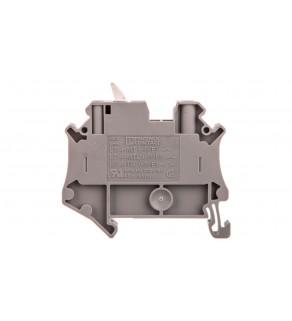 Złączka przelotowa 2-przewodowa z odłącznikiem nożowym 4mm2 szara UT 4-MTL-P/P KNIFE-WH 3046150